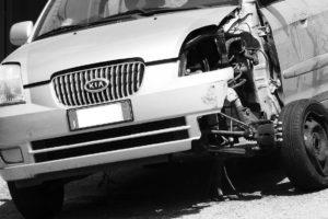 Remorquage épave de voiture
