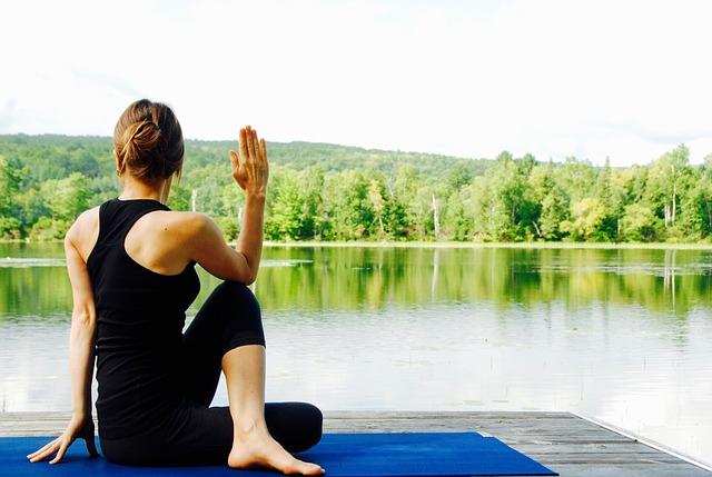 yoga en position assise